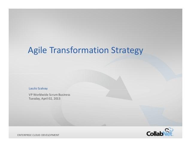 Agile transformation longform