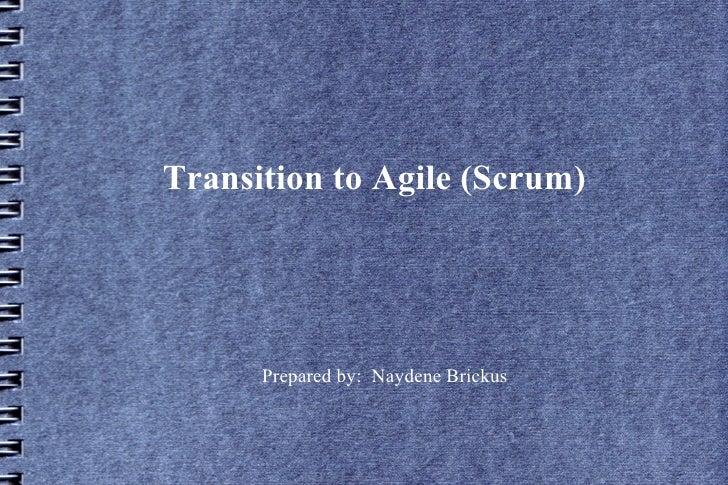 Agile transition
