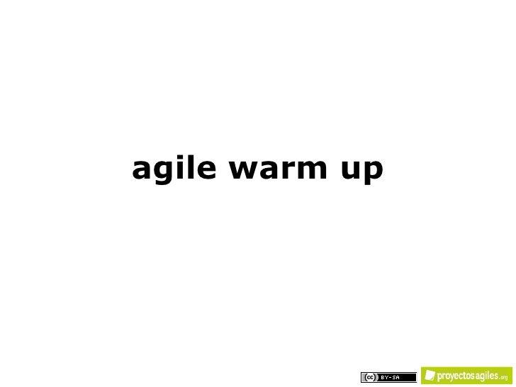 agile warm up