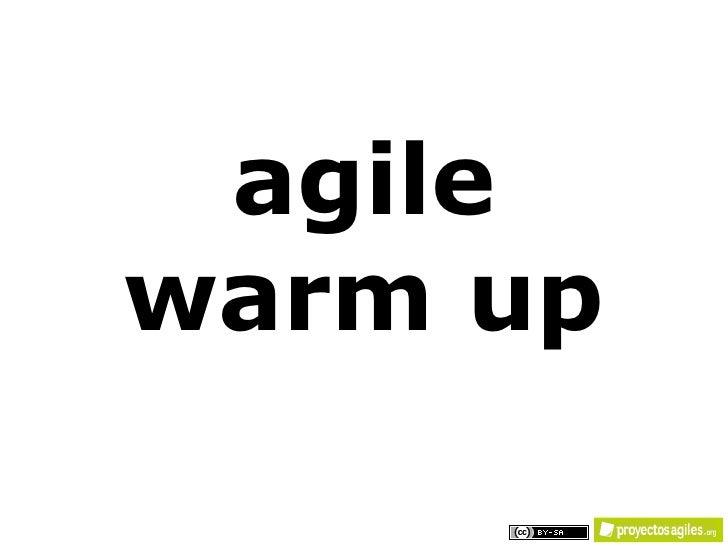 Agile warm up   v02