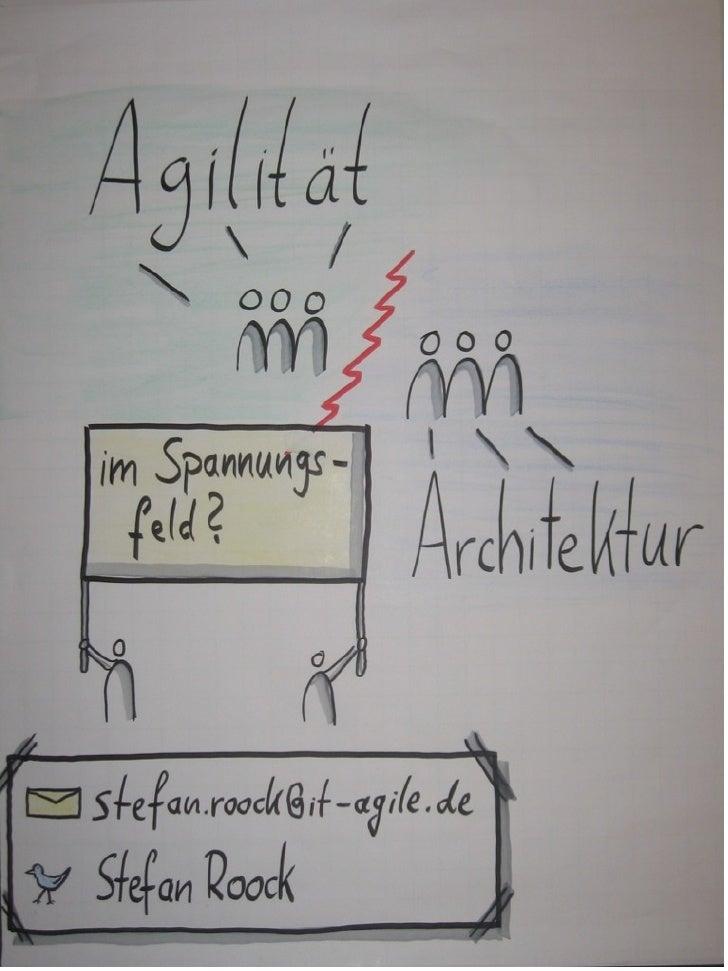 Wie Sie in agilen Projektennachhaltige Architekturen undEntwürfe herstellen, lernen Sie bei it-agile, z.B. in den Kursen  ...