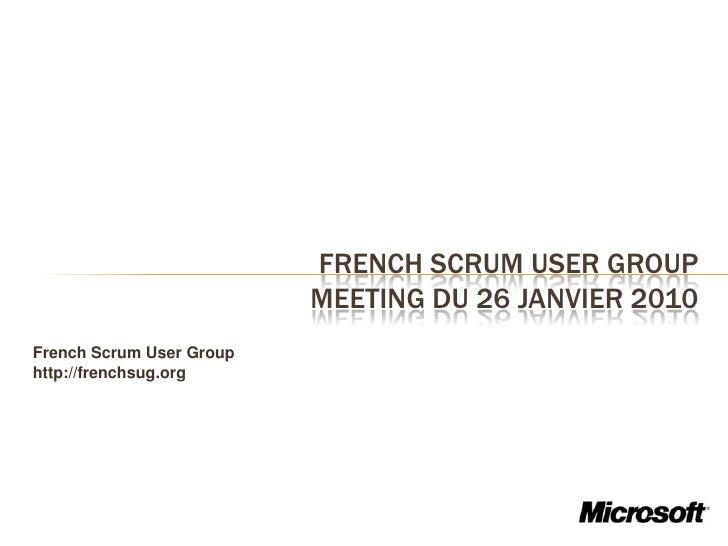 Agilité et Microsoft France