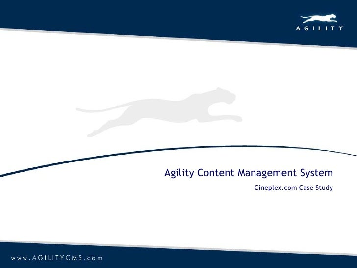 5 X Hot Technology Companies Presentation - Agility