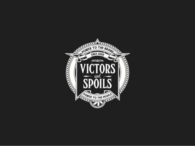 Victors & Spoils CEO John Winsor - Crowd sourcing in the USA