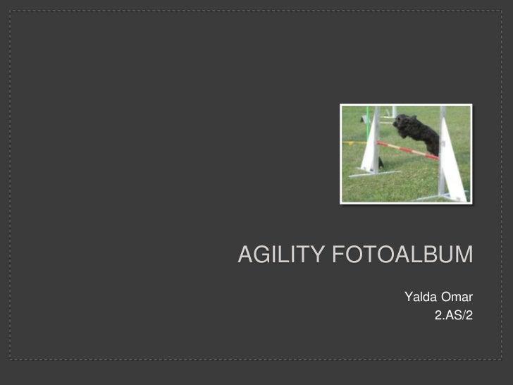 AGILITY FOTOALBUM            Yalda Omar                 2.AS/2
