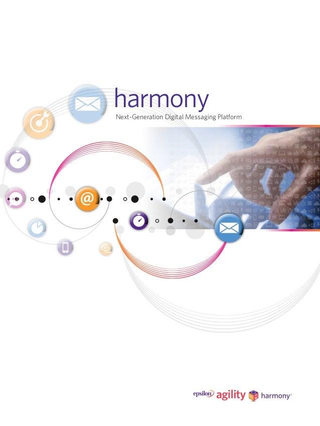 Next-Generation Digital Messaging Platform harmony
