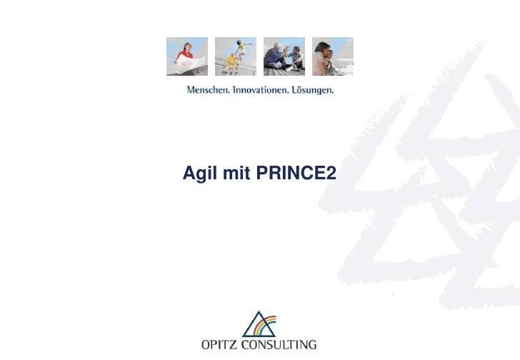 Agil mit PRINCE2<br />