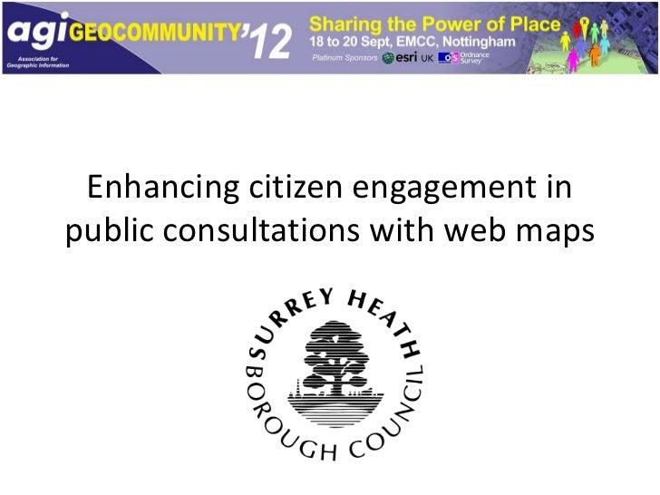 AGI Geocom Presentation - Surrey Heath Borough Council