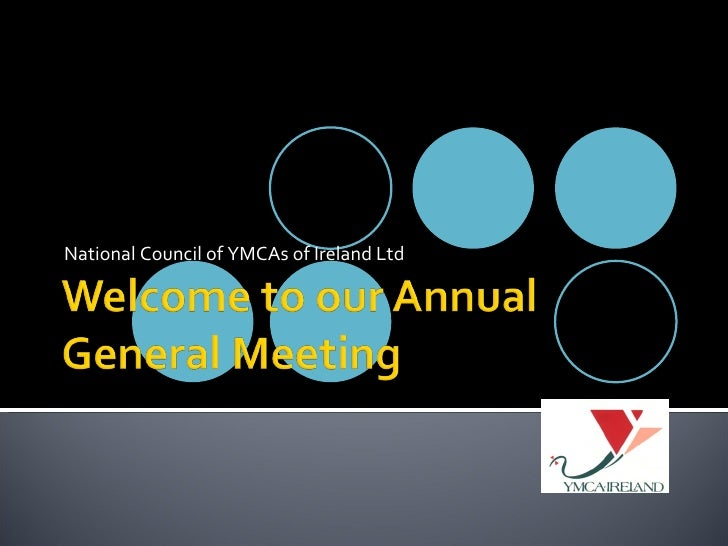 National Council of YMCAs of Ireland Ltd