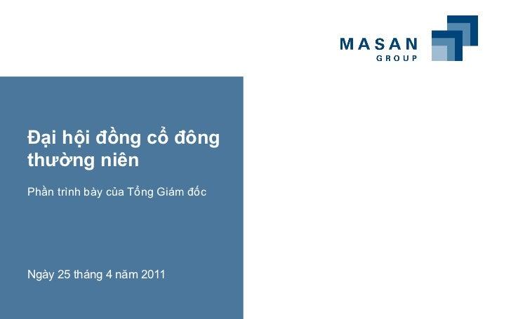 Agm 2011 Baithuyet Trinh Cua Ceo(05042011)