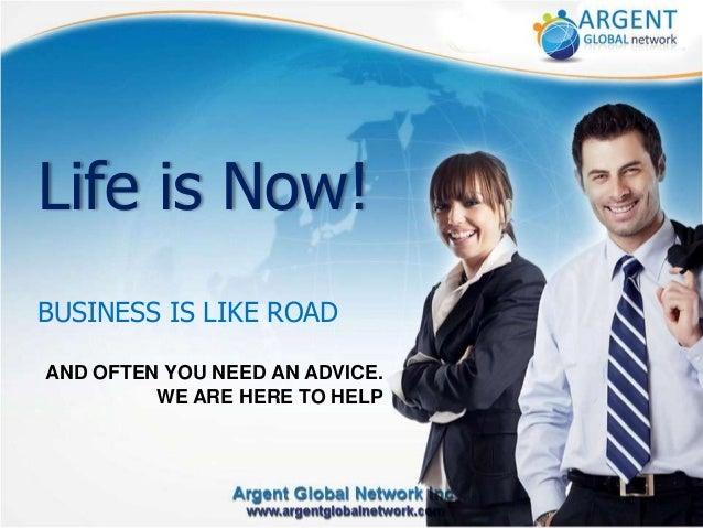 ARGENT Global Network - Slide Share - Presentation - EN - AGN