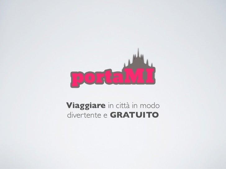 PortaMi - Stefano Agnellini