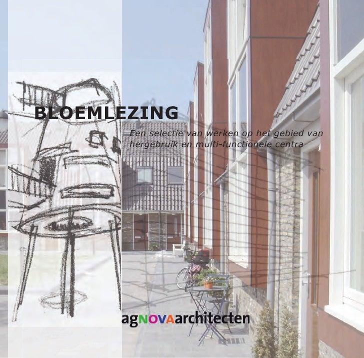 ag NOVA architecten geselecteerd werk