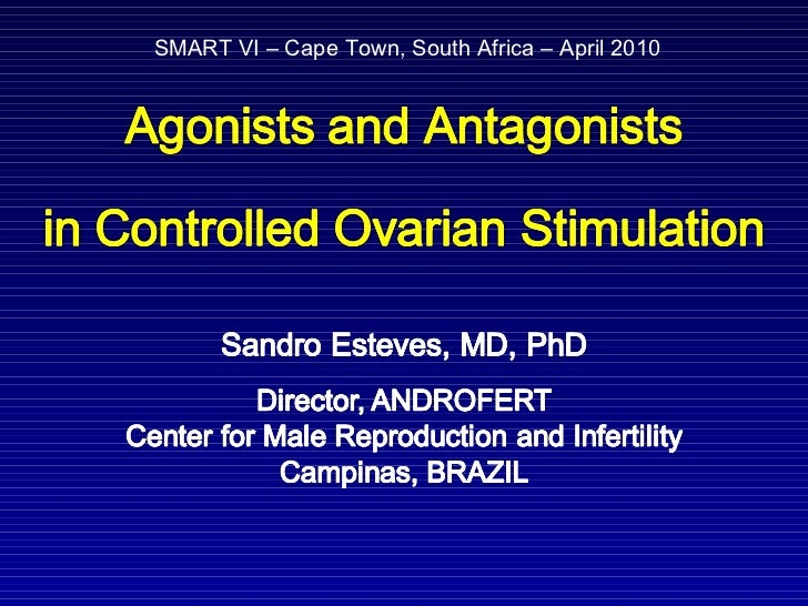 Agonists and antagonists in controlled ovarian stimulation