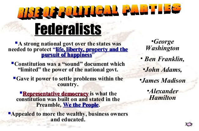 constitutional period critical period federalist period The critical period (1783 how did the framers of the constitution address the weaknesses of the states' rights supporters and federal power supporters.