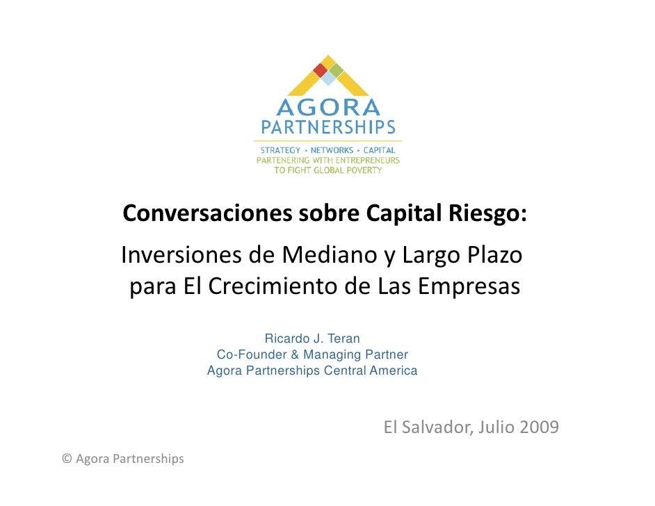 Inversiones de Mediano y Largo Plazo para El Crecimiento de Las Empresas