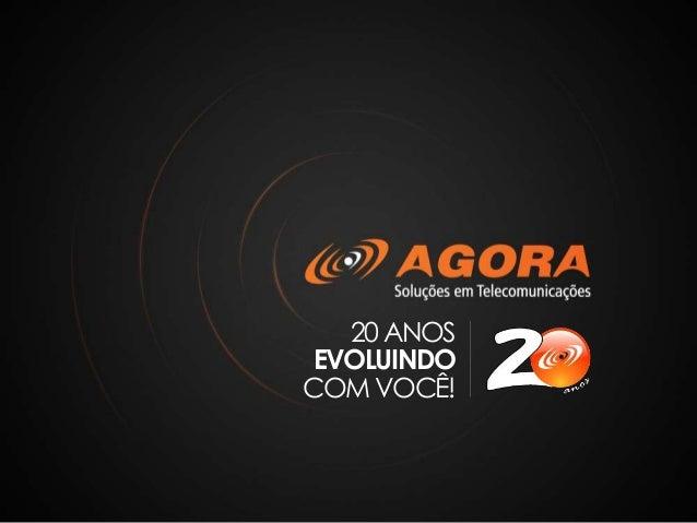 20 ANOS EVOLUINDO COM VOCÊ!