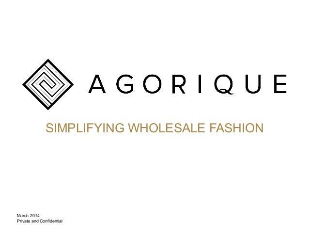 Agorique overview march2014