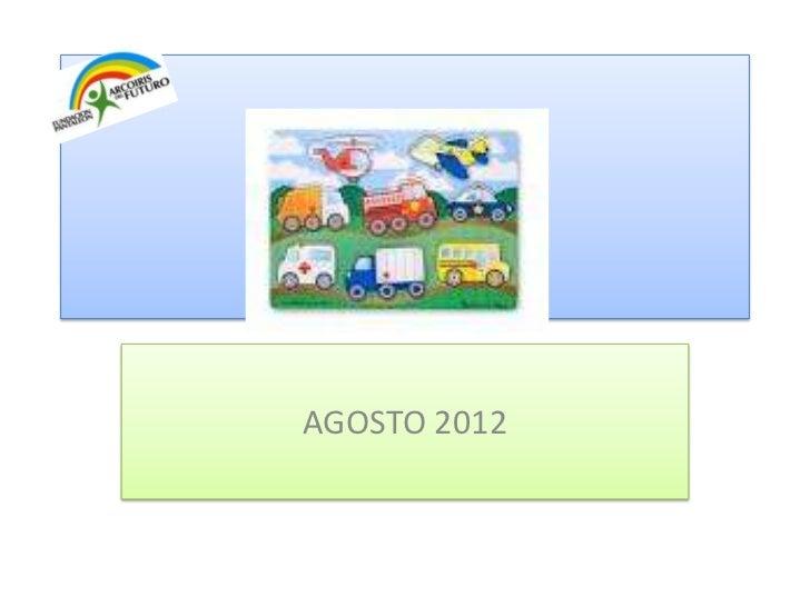 AGOSTO 2012