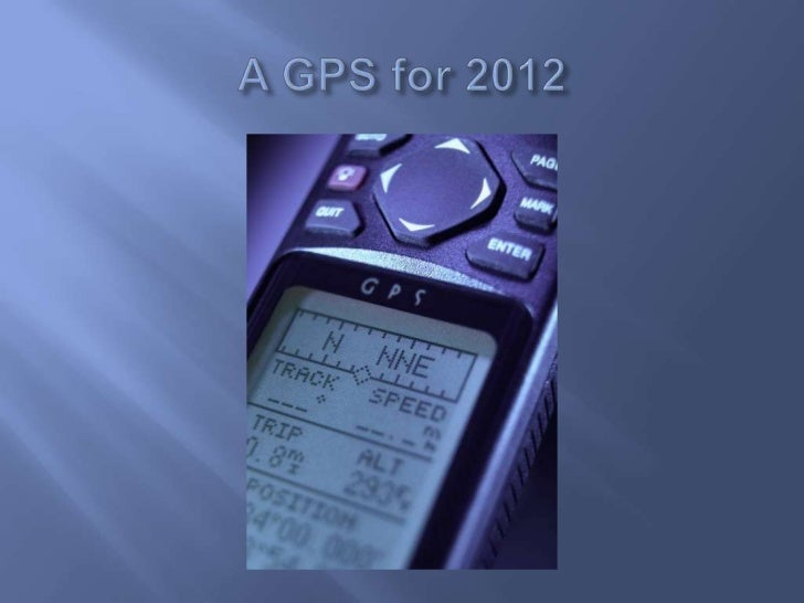 A gps for 2012 jan 1