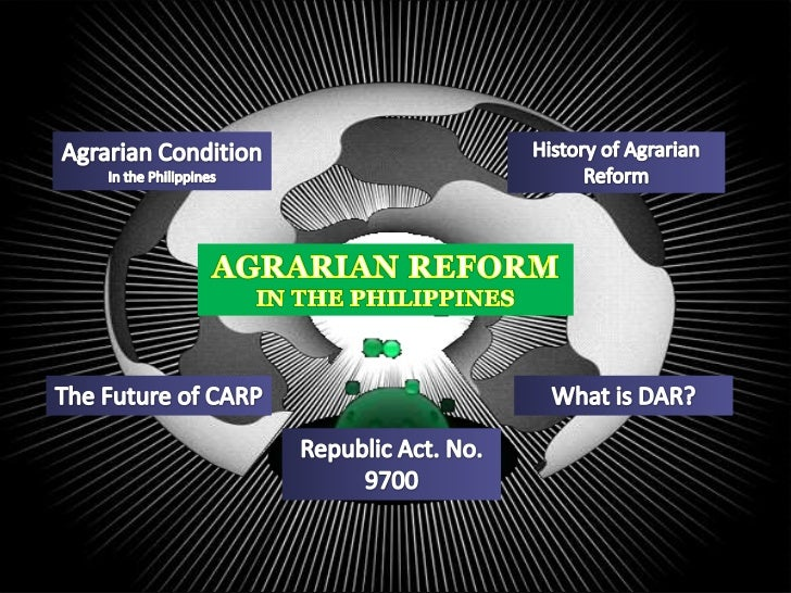a status on the comprehensive agrarian Agrarian law reviewer  the comprehensive agrarian reform  a meaningful agrarian reform program to uplift the lives and economic status.