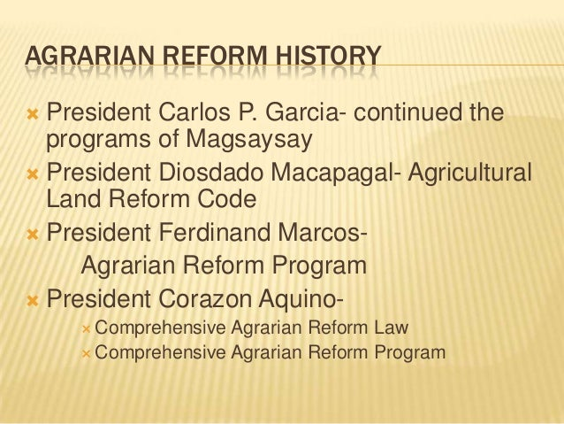 """reaction paper about comprehensive agrarian reform program A reaction paper to the reaction paper to the documentary """"sa ngalan ng tubo"""" this is passing the comprehensive agrarian reform program."""