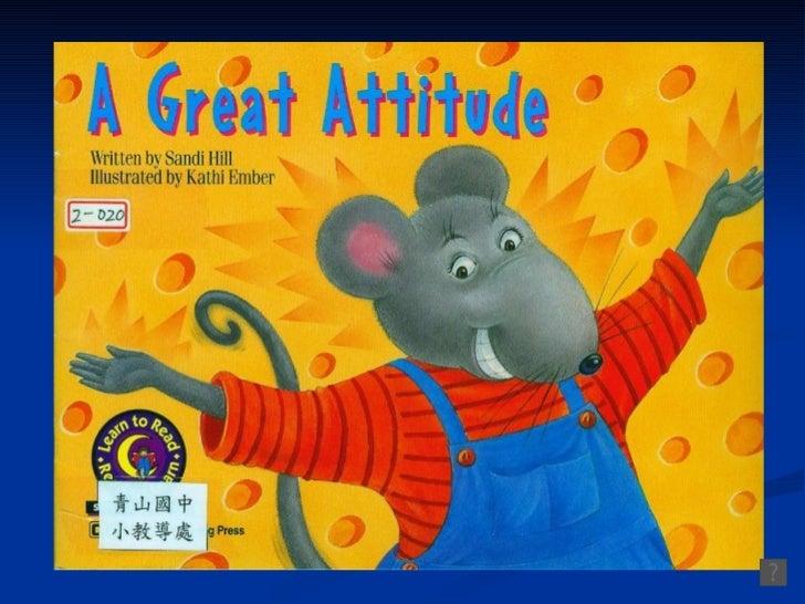 A great attitude -cloze 教學克漏字版