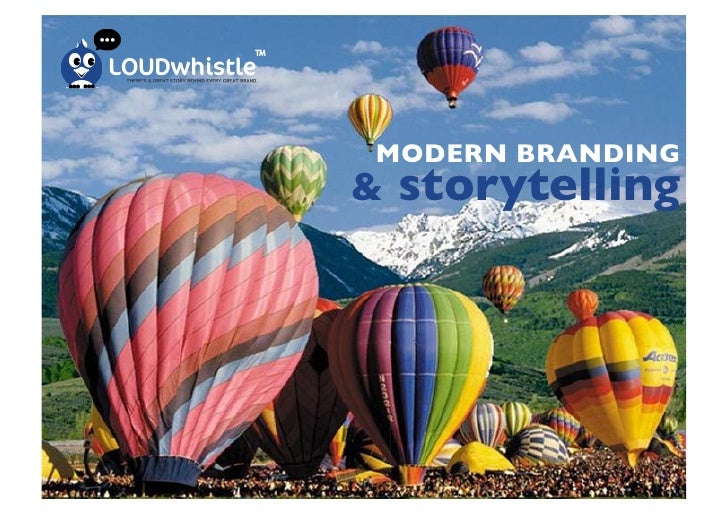 LoudWhistle - A Great Brand is A Great Story