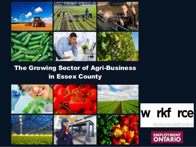 The Growing Sector of Agri-Buisness in Essex County