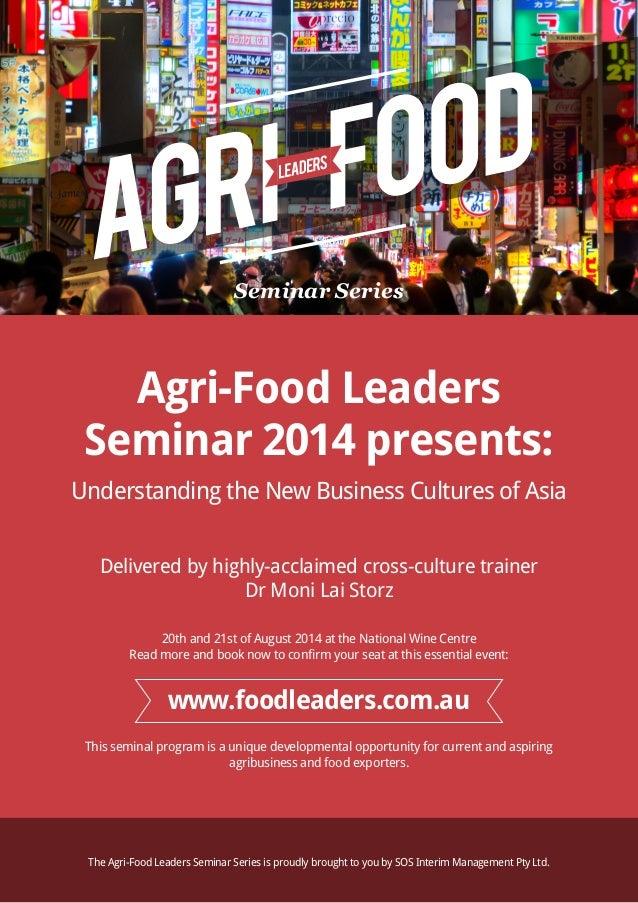 Agri-Food Leaders Flyer