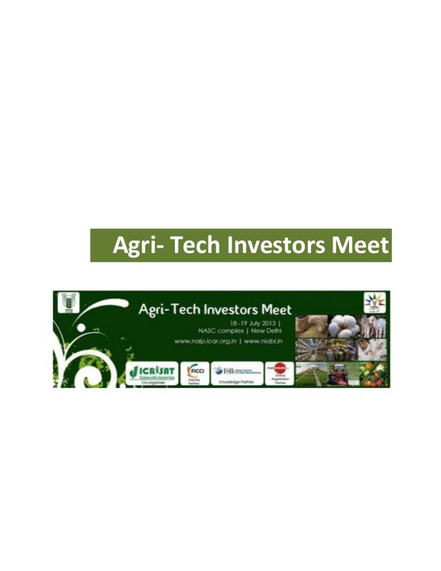 Agri tech-investors-meet