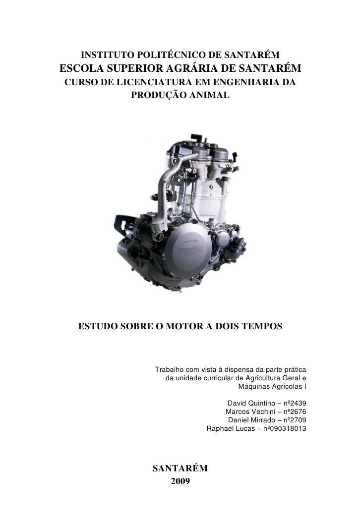 Motor A Dois Tempos AGMAI