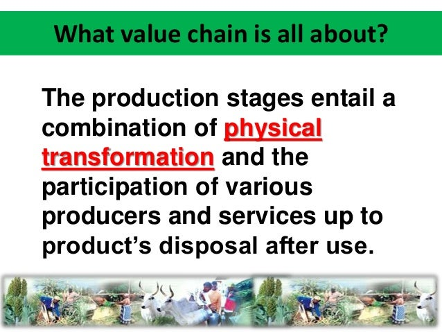 agricultural value chain analysis