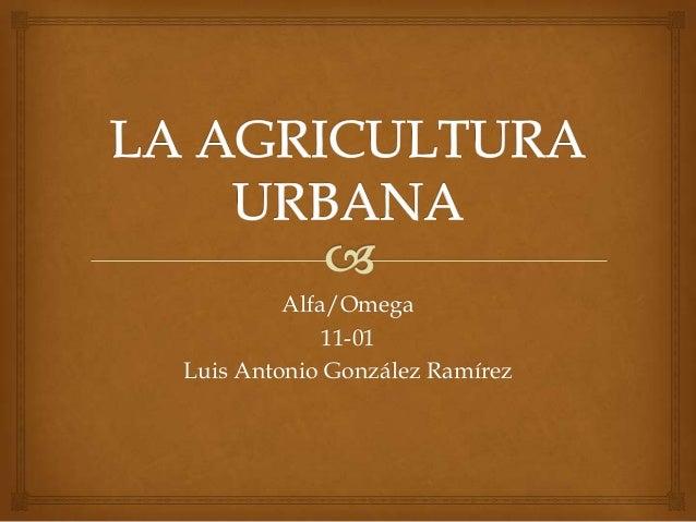 Alfa/Omega             11-01Luis Antonio González Ramírez