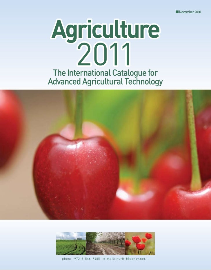 Agriculture 2011