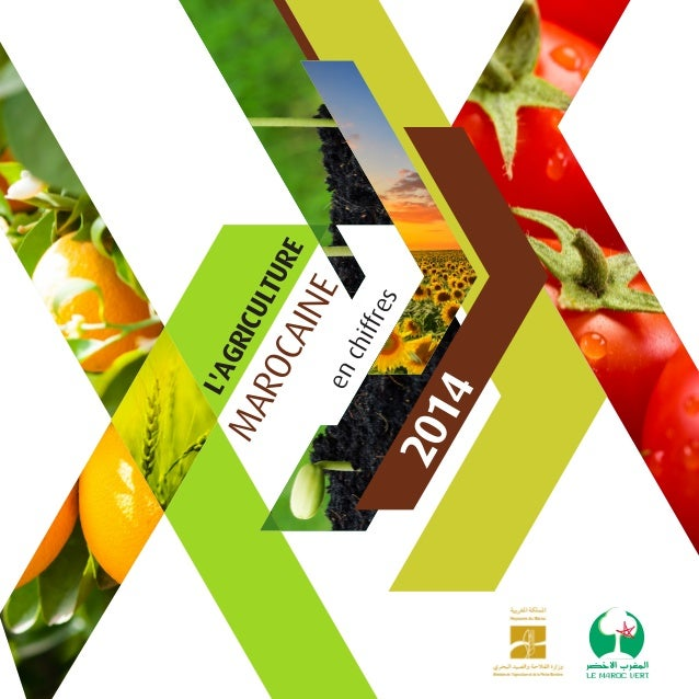 2014 enchiffres L'AGRICULTURE MAROCAINE