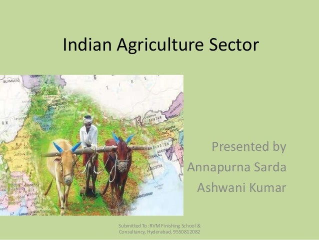 Indian Agriculture sector