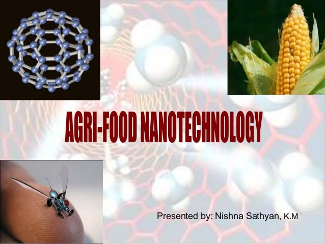Agriculture and food • topics • nanotechnology project