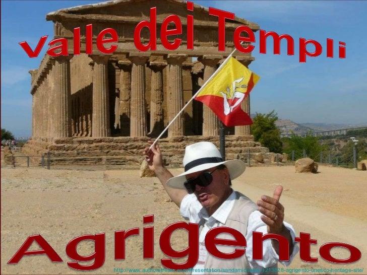 Agrigento UNESCO Heritage Site