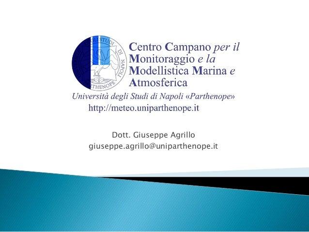 Dott. Giuseppe Agrillogiuseppe.agrillo@uniparthenope.it