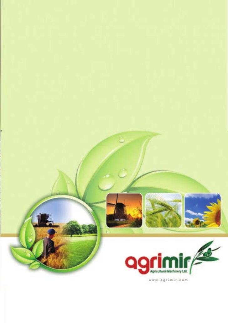 Agrimir Agriculture Equipment Catalog 2010