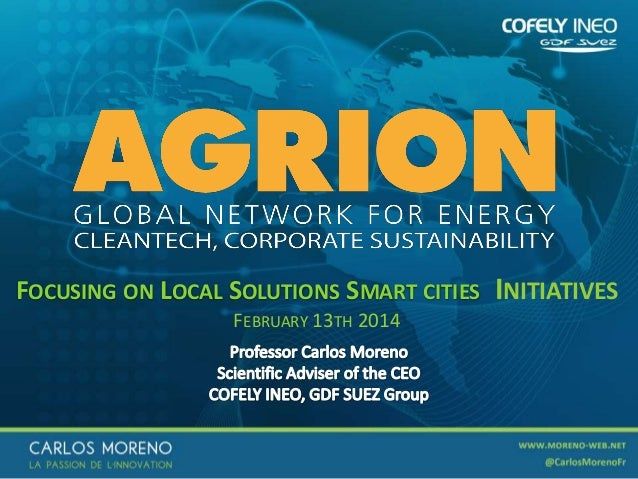 Focusing on local solutions smart cities initiatives - Agrion Paris