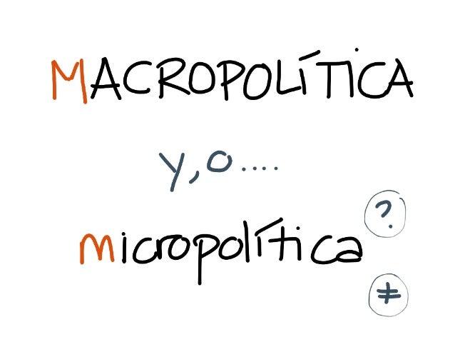 Micropolítica