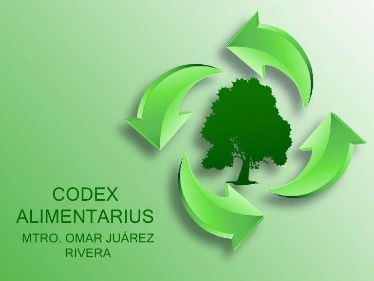 Agro   codex alimentarius