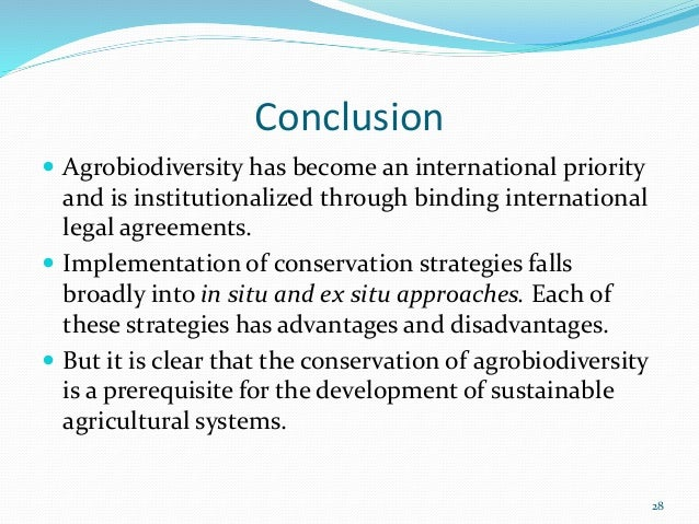 agricultural sustainability and biodiversity essay Sustainability today is a major term included in every agenda of almost every country  ' sustain biodiversity essay uk, sustainability.