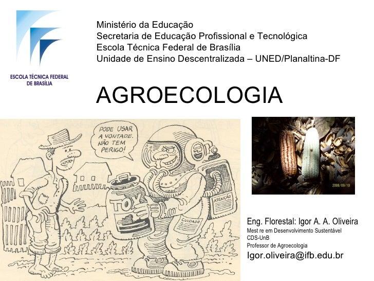 Ministério da EducaçãoSecretaria de Educação Profissional e TecnológicaEscola Técnica Federal de BrasíliaUnidade de Ensino...