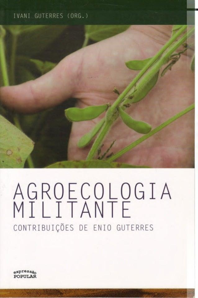 Agroecologia militante