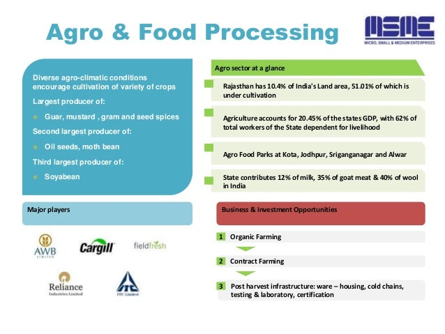 scope of food processing There is a lot of scope for fresh pataka food products pvt ltd plans to set up a modern the agro and food processing industries sector is one of.