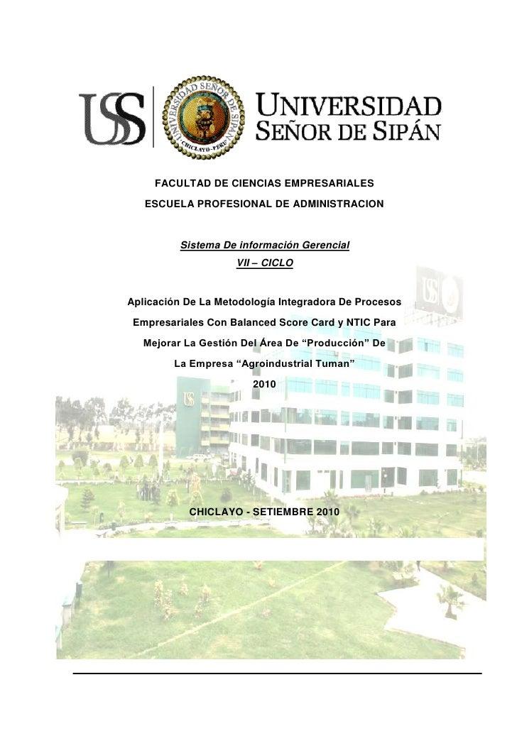 -102235-90805<br />FACULTAD DE CIENCIAS EMPRESARIALES<br />-260985167005ESCUELA PROFESIONAL DE ADMINISTRACION<br />Sistema...