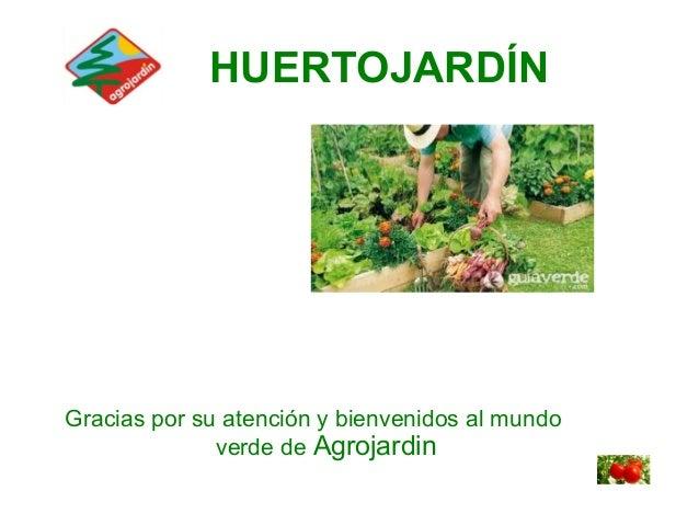 Agrojardin proyecto huertojardin for Agro jardin estepona